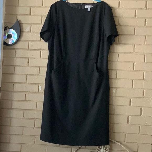 Liz Claiborne black dress size 16w NWOT